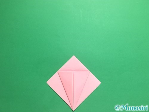 折り紙で羽ばたく鳥の折り方手順12