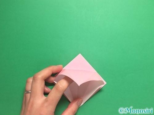 折り紙で羽ばたく鳥の折り方手順14