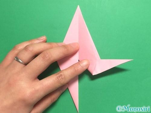 折り紙で羽ばたく鳥の折り方手順22