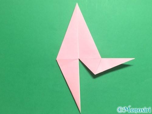 折り紙で羽ばたく鳥の折り方手順25