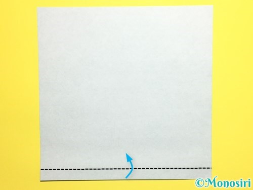 折り紙で立体的なカーネーションの作り方手順15