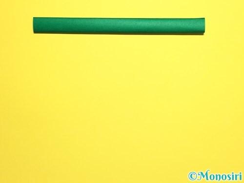 折り紙で立体的なカーネーションの作り方手順19