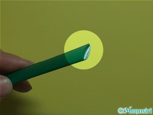 折り紙で立体的なカーネーションの作り方手順20