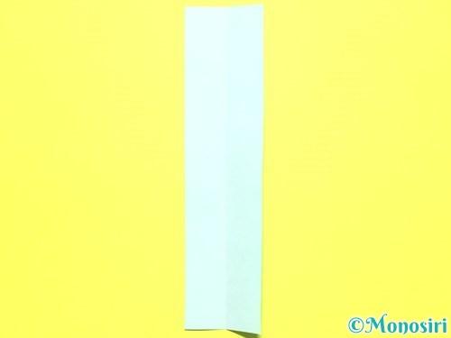 折り紙で平面カーネーションの作り方手順25