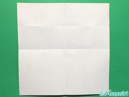 折り紙でハートの指輪の折り方手順4