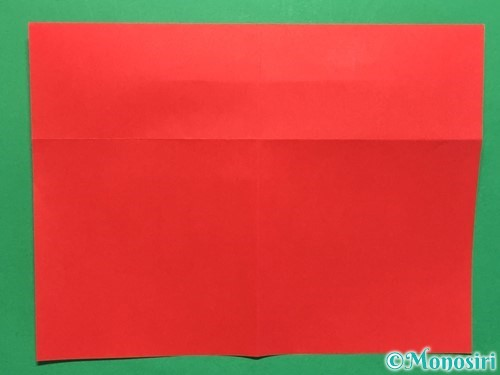 折り紙でハートの指輪の折り方手順9