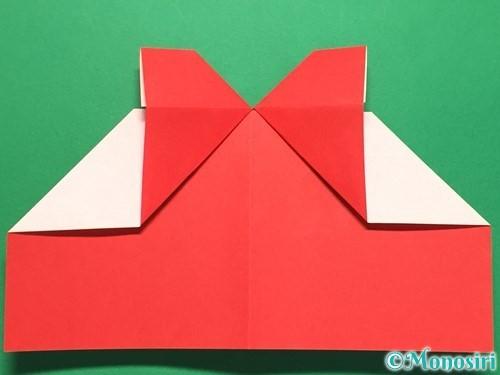 折り紙でハートの指輪の折り方手順20