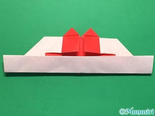 折り紙でハートの指輪の折り方手順26