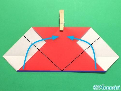 折り紙で簡単なハートの折り方手順7
