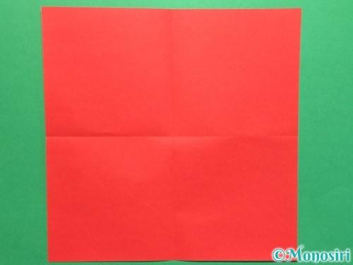 折り紙で簡単な鯉のぼりの折り方手順2