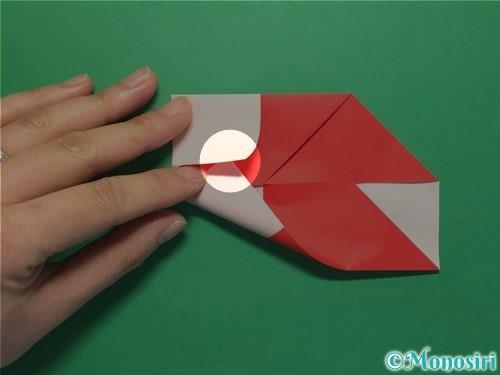 折り紙で簡単な鯉のぼりの折り方手順15