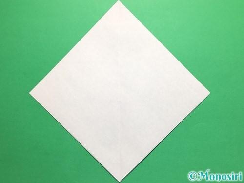 折り紙で簡単なカブトの折り方手順2