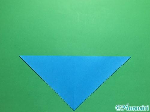 折り紙で簡単なカブトの折り方手順4