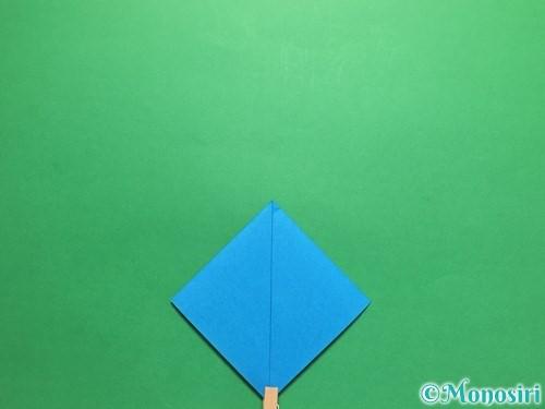 折り紙で簡単なカブトの折り方手順6