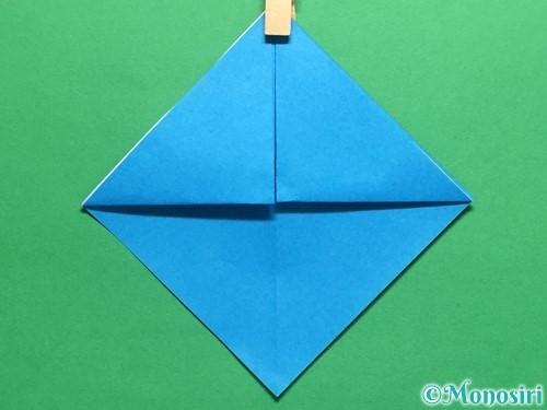 折り紙で簡単なカブトの折り方手順8