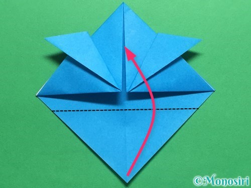 折り紙で簡単なカブトの折り方手順11