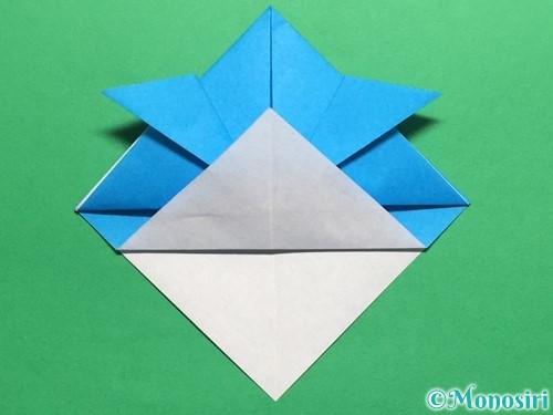 折り紙で簡単なカブトの折り方手順12