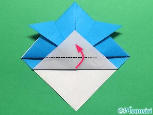 折り紙で簡単なカブトの折り方手順13