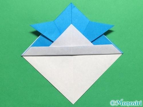 折り紙で簡単なカブトの折り方手順14