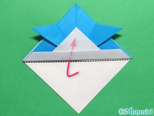 折り紙で簡単なカブトの折り方手順16