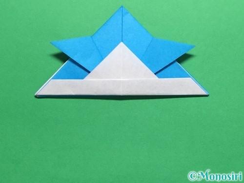 折り紙で簡単なカブトの折り方手順17