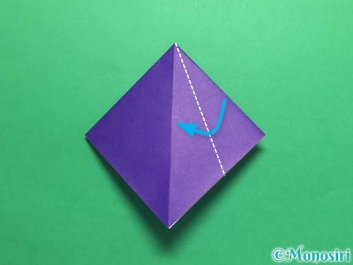 折り紙でかっこいい兜の折り方手順8