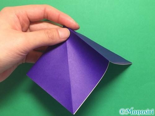 折り紙でかっこいい兜の折り方手順9