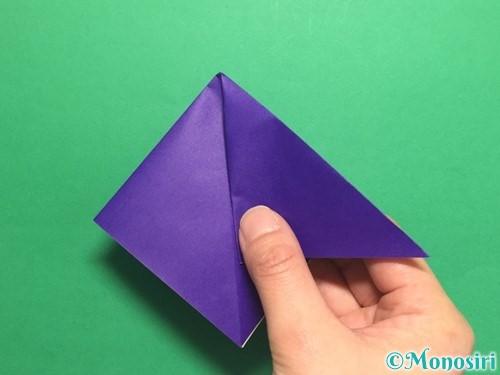 折り紙でかっこいい兜の折り方手順10