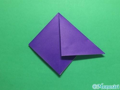 折り紙でかっこいい兜の折り方手順11