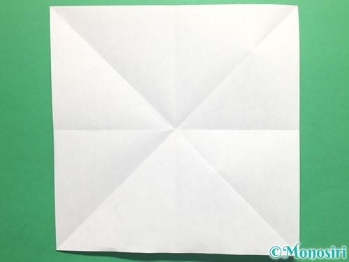 折り紙でかっこいい兜の折り方手順4