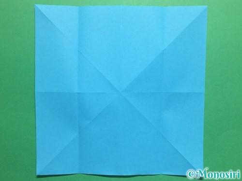 折り紙でかっこいい兜の折り方手順7