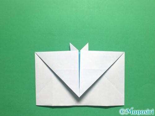 折り紙でかっこいい兜の折り方手順23
