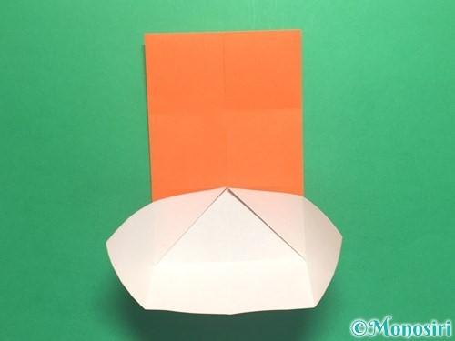 折り紙で風車の折り方手順8