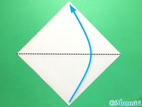 折り紙で菖蒲の折り方手順5