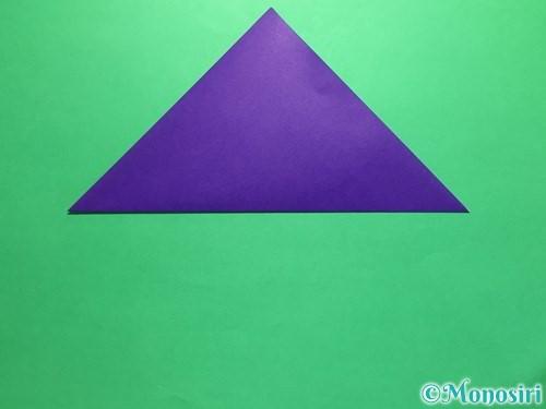 折り紙で菖蒲の折り方手順6