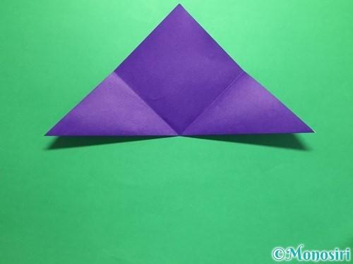 折り紙で菖蒲の折り方手順8