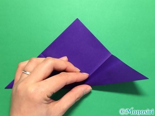折り紙で菖蒲の折り方手順11