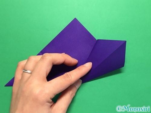 折り紙で菖蒲の折り方手順12