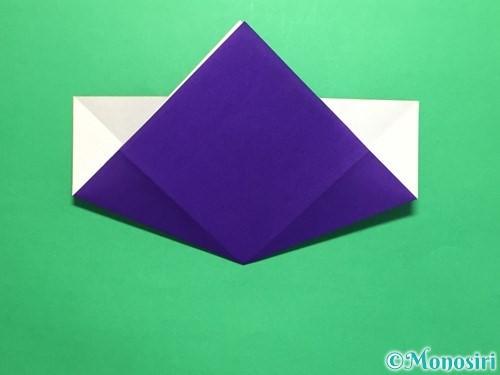 折り紙で菖蒲の折り方手順15