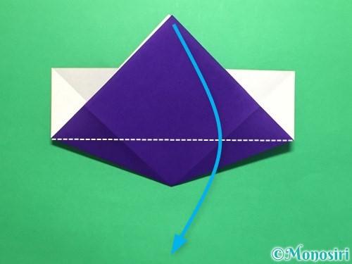 折り紙で菖蒲の折り方手順16