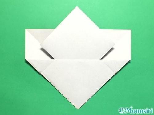 折り紙で菖蒲の折り方手順17