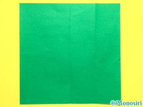 折り紙で菖蒲の折り方手順28