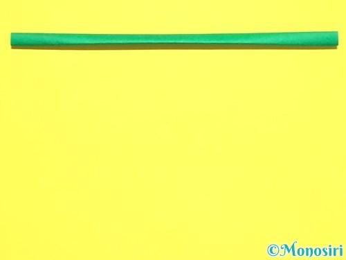 折り紙で菖蒲の折り方手順35