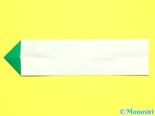 折り紙で菖蒲の折り方手順40