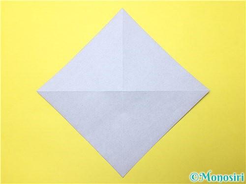 折り紙で立体的な菖蒲の折り方手順3