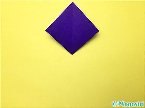 折り紙で立体的な菖蒲の折り方手順8