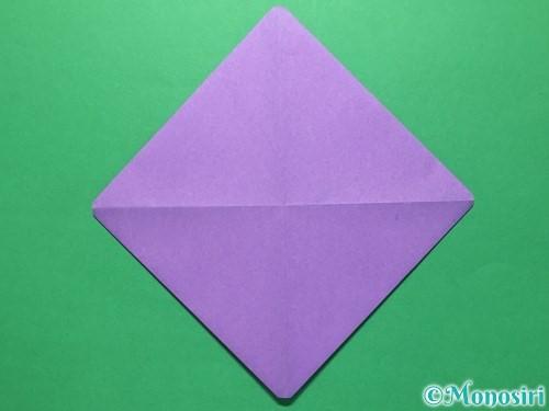 折り紙で盾の折り方手順5