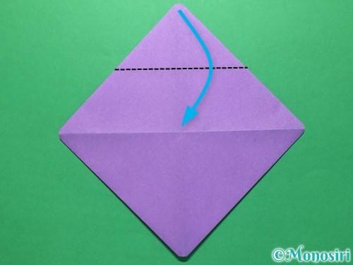 折り紙で盾の折り方手順6