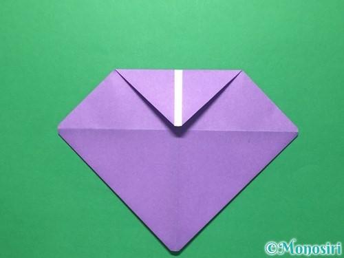 折り紙で盾の折り方手順7
