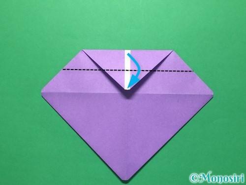 折り紙で盾の折り方手順8
